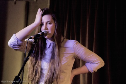 Live for Folkroom at The Harrison, 4th February 2015